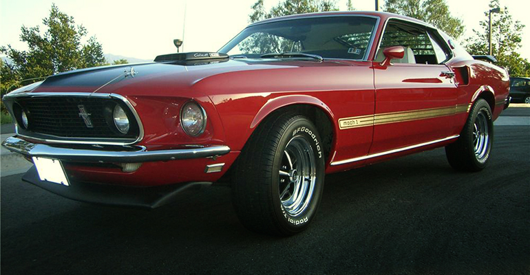 1969 FORD MUSTANG MACH 1 428 CJR FASTBACK